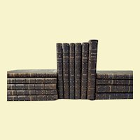 Fifteen volumes of opera scores by Mozart, Donizetti, Verdi, etc. in fine bindings