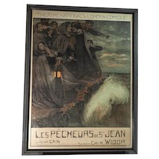Les Pecheurs de St. Jean-Opera poster 1906
