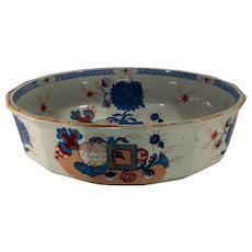 Mason's Patent Ironstone Large 12-faceted Bowl