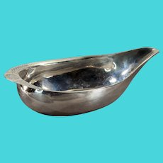 George III English Sterling Pap Boat