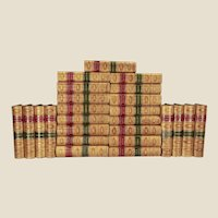 book: THE WAVERLY NOVELS (25 volumes, complete set)