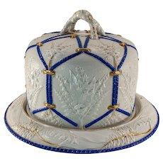Victorian Glazed Stoneware Cheese Bell