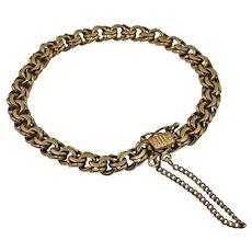 Vintage 18K Yellow Gold Link Bracelet