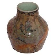 Signed Emile Galle' Vase