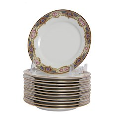 Set of 11 Limoges Salad Plates