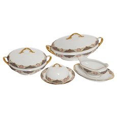 Limoge Serveware- Four Pieces