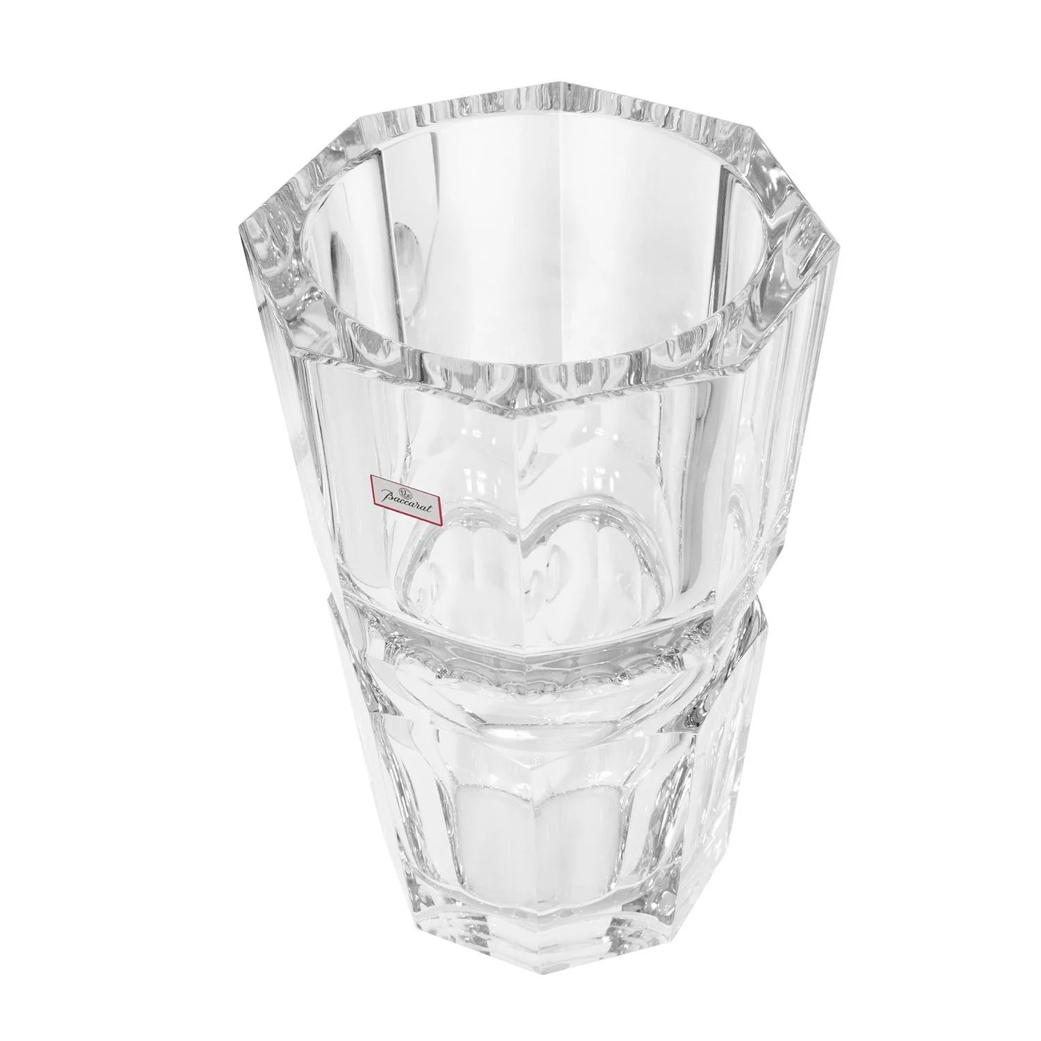 Baccarat Edith Extra Large Crystal Vase Sanctuary By S