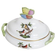Herend Rothschild Bird Small Tureen