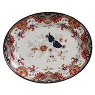 Royal Doulton Imari Matsumai Platter- 1924