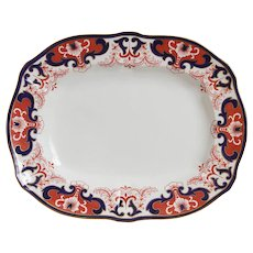 Royal Crown Derby Imari Large Serving Platter- Circa 1913