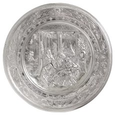 An Important Elkington and Morel-Ladueil Silver Plate Charger Circa 1876