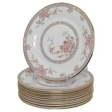 Set of 12 Royal Doulton Canton Bread Plates
