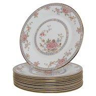 Set of 12 Royal Doulton Canton Salad Plates