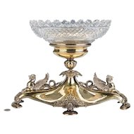 Elkington Gilt and Silver Plated Centerpiece