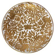 Royal Crown Derby Set of 12  24 Karat Paste Gold Plates