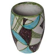 Signed Guido Gambone Ceramic Vase