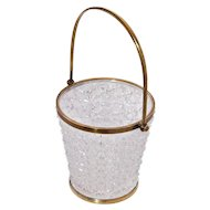 Baccarat Cut Crystal Ice Bucket