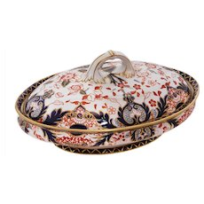 Large, Royal Crown Derby Imari Covered Tureen/Serving Dish