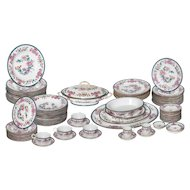 83 piece Royal Worcester Dinnerware from 1887