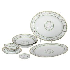 Limoges Bernaurdaud Artois Set of 8 Service Pieces
