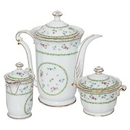 Limoges Bernaurdaud Artois Coffee/Tea Set