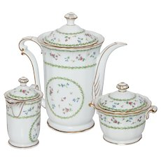 Limoges Bernaurdaud Artois Coffee/Tea Set