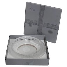 "Lalique Crystal ""Marguerites"" Bowl with Box"