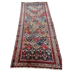 Persian Rug - 1930s Hand-Knotted Malayer Persian Rug (3291)