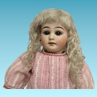 "19"" Antique Bisque Mystery Doll"