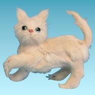 Persian Kitty Cat Real Fur Doll Pet