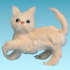 Persian Kitty Cat Real Fur Doll Pet