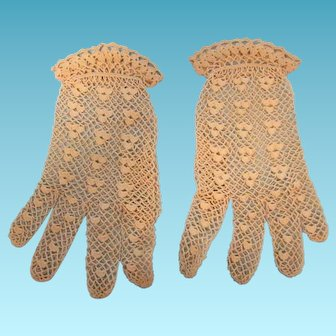Lacy Wedding Gloves
