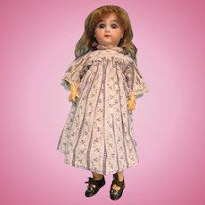 """12""""  Wilhelm Dehler Antique German Bisque Closed Mouth Doll"""