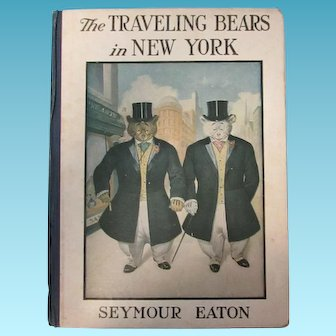 The Traveling Bears in New York by Seymour Eaton Teddy Bears Children's Books