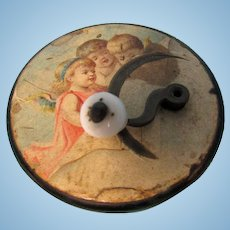 Small Vintage Music Box Hand-Cranked