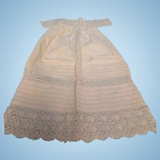 Small Antique Baby Doll Dress