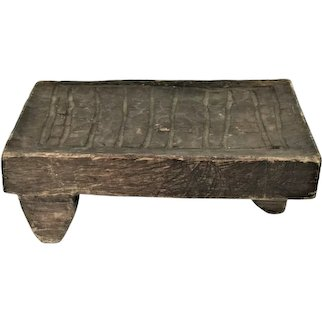 Primitive Brown Handmade Washboard