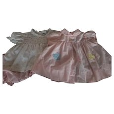 Pair of Baby Play Dresses