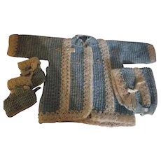Vintage Children's Handmade Sweater