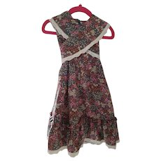 Vintage Toddler Wrap around Dress
