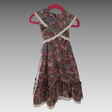 Vintage Toddler Wrap around Dress