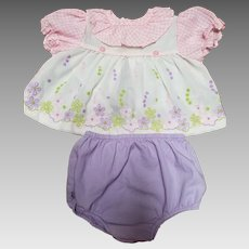 Vintage New Born 2 Piece Outfit