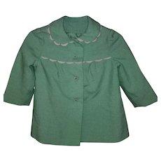 1960s Girls Pea Coat. Excellent. Toddler. Mint