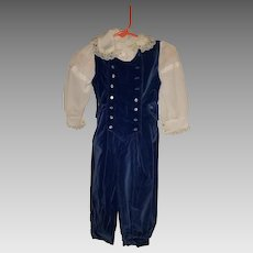 Large Doll Outfit from the 1980s is a Remake of earlier 1900s Christmas Outfit