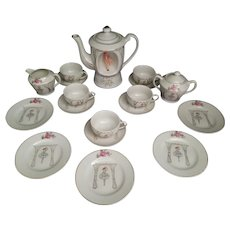 Ballerina Musical Tea Set  for 5
