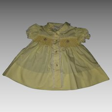 Yellow Infant Dress