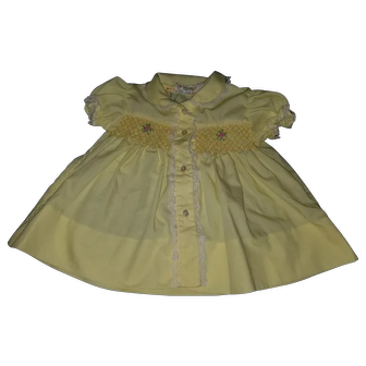 Yellow Infant Dress