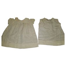 Vintage Baby Dress and Slip Set