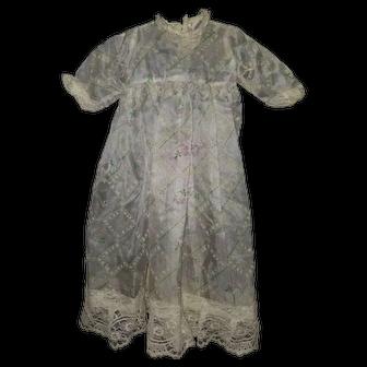 Vintage Sheer Doll Dress
