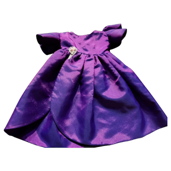 Purple Doll Gown